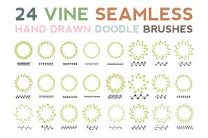 Vine Seamless Brush
