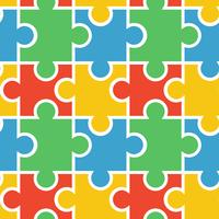 Puzzle seamless background