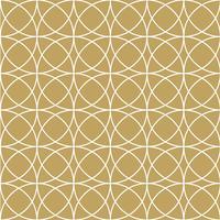 Elegant guldcirkelmönster