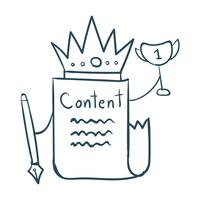 Content is king vector
