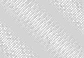 Abstract white color geometric stripes oblique halftone texture gray background.