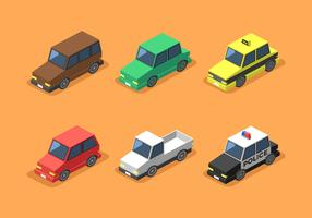 Isometric Car Clip Art Vector