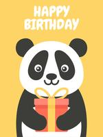 Feliz aniversario Panda