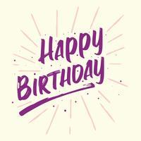 Alles- Gute zum Geburtstagschönes Gruß-Karten-Plakat