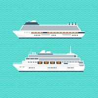 FLAT SHIP COLLECTION vector
