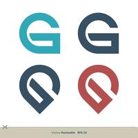 G Lettre vecteur Logo Template illustration design