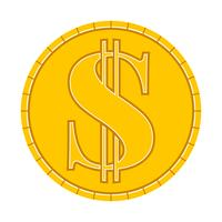 Money Coin Vector Icon
