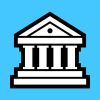 Banque Vector Icon
