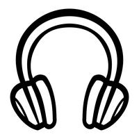 Headphones Music Accessory vector icon