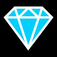 Diamant vector logo