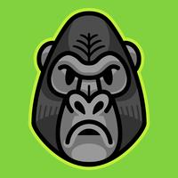 Gorilla Ape Monkey Face