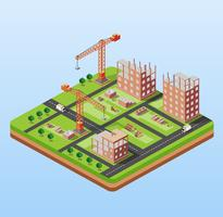 Industrielles Stadtgebäude
