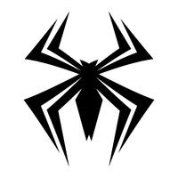 Spider insect bug vector