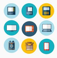 different computers vector