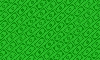 Dollarräkning vektor illustration