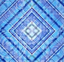 tartan bleu