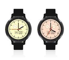 Reloj moderno y de moda.