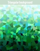 Grön mosaik bakgrund