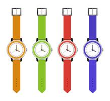 sports and fashion watches vector