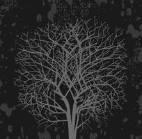 Dark  tree vector