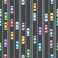 padrão sem emenda de carros