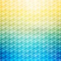 Abstract summer tropical blue and yellow background. Geometric pattern.