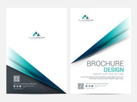 Brochure Layout template, Leaflet Flyer cover design background vector