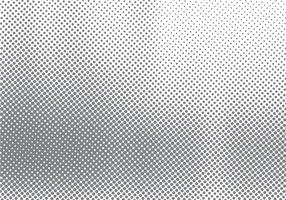 Abstract halftone motion effect with fading dot gradation black and white background and texture. vector