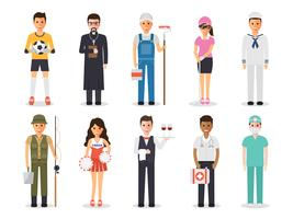Occupation profession people.