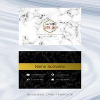 Plantillas de diseño de tarjeta de visita de diseñador moderno.