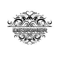 Insignias vintage de diseño vectorial.