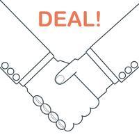 handdruk deal