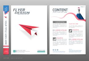 Covers book design template vector, Business startup concept.