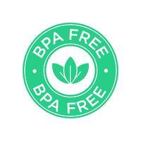 Ícone livre de BPA. vetor