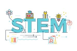 STEM - wetenschap, technologie, engineering, wiskunde