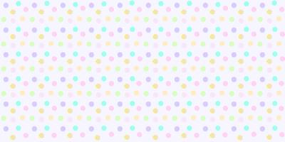 Polka dot pattern seamless in pastel color. Colorful abstract polka dot  for baby fabric print, wallpaper, textile, wrapping paper, banner and card design.