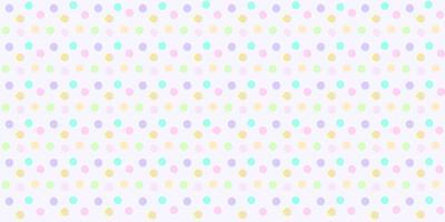 Tupfenmuster nahtlos in der Pastellfarbe. Bunter abstrakter Tupfen für Babygewebedruck, Tapete, Gewebe, Packpapier, Fahne und Kartendesign.