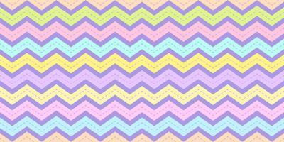 Chevronstreeppatroon naadloos in pastelkleur. De textuurachtergrond van de zigzagregenboog voor de druk van de jong geitjestof, behang, verpakkend document, textiel, babyachtergrond, banner en kaartontwerp.