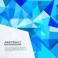 Abstrait géométrique. Innovation informatique de haute technologie sur le fond bleu. Illustration vectorielle eps10.