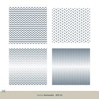 set Zigzag Line Seamless Pattern Set Vecteur Modèle Illustration Design