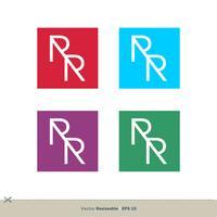 RR brevlogo mall illustration design