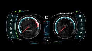 Car dash board vector illustration eps 10 007