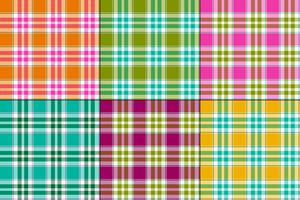 grandi madras vector plaid
