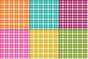 färgglada vektorplädor