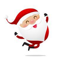 Glad jul karaktär Santa claus tecknad film 016