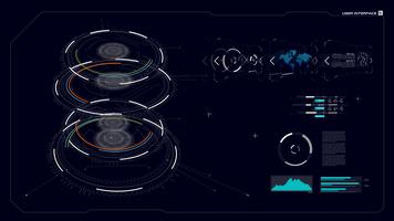 Interface graphique HUD 005