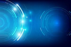 Résumé de la technologie de fond HUD 006
