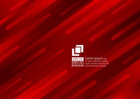 Éléments géométriques design moderne de couleur rouge foncé abstrait