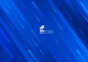 Geometric elements blue abstract background modern design