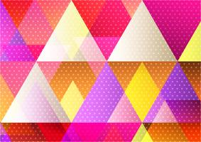 Fondo astratto geometrico multicolore per il vostro sito Web o affare della bandiera, progettazione moderna dell'illustrazione di vettore